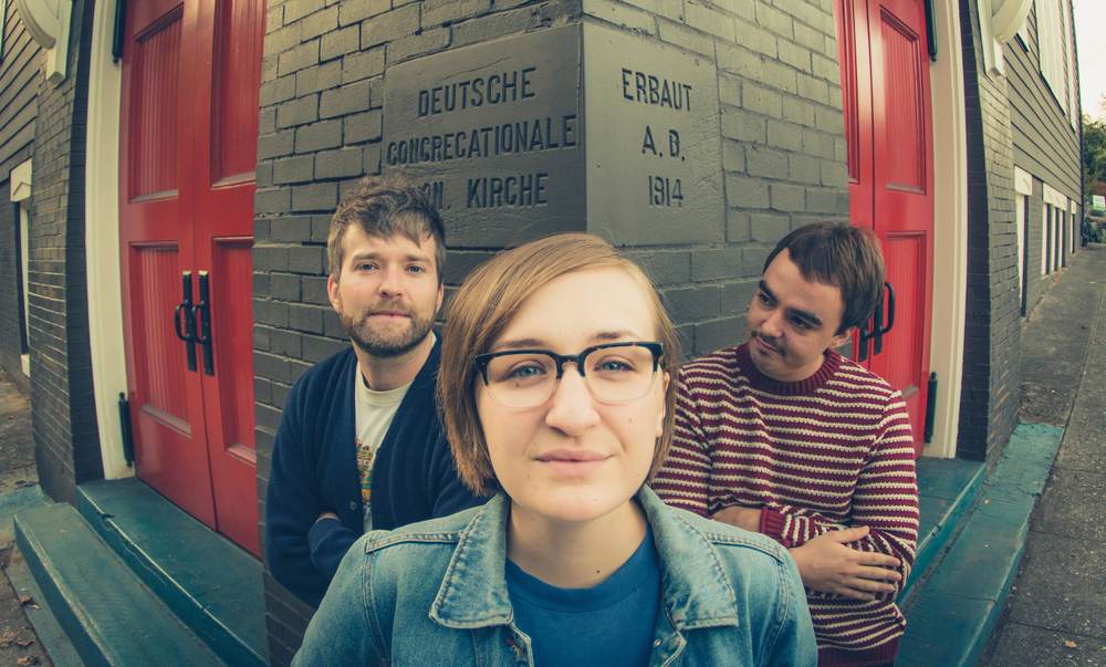 """Gigantic first song pairing for Lustrous Belgian Farmhouse is with Portland band bed. and features the song """"The Rule"""" from their new album """"Klikitat"""". (image courtesy of bed.)"""