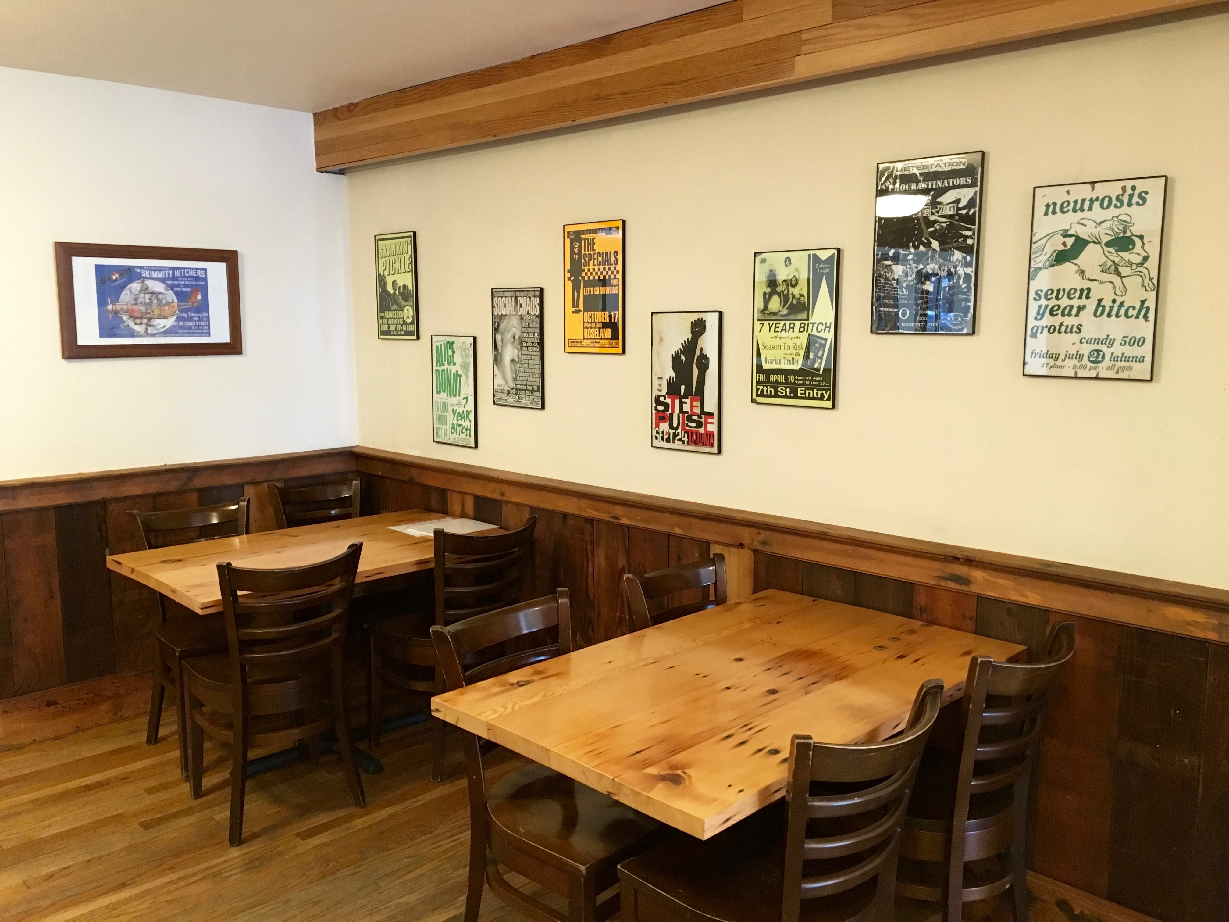 Inside the newly opened Cider Riot! Pub.