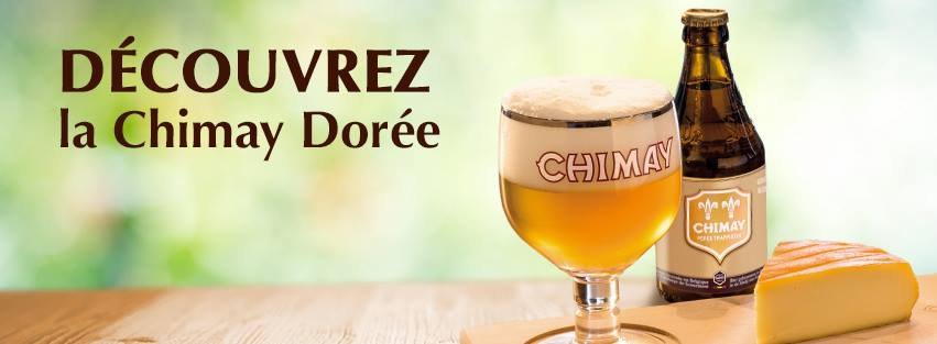 La Chimay Doree. (image courtesy of Chimay)