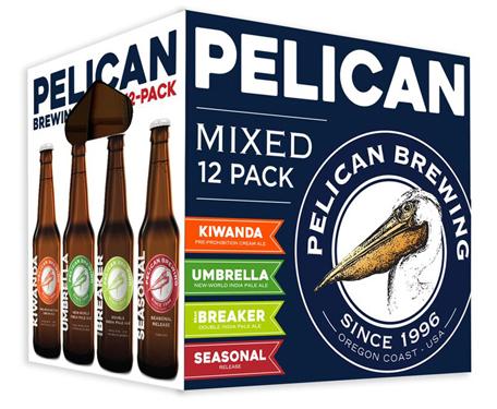 Pelican Brewing Summer Mix Pack with Beak Breaker IIPA.