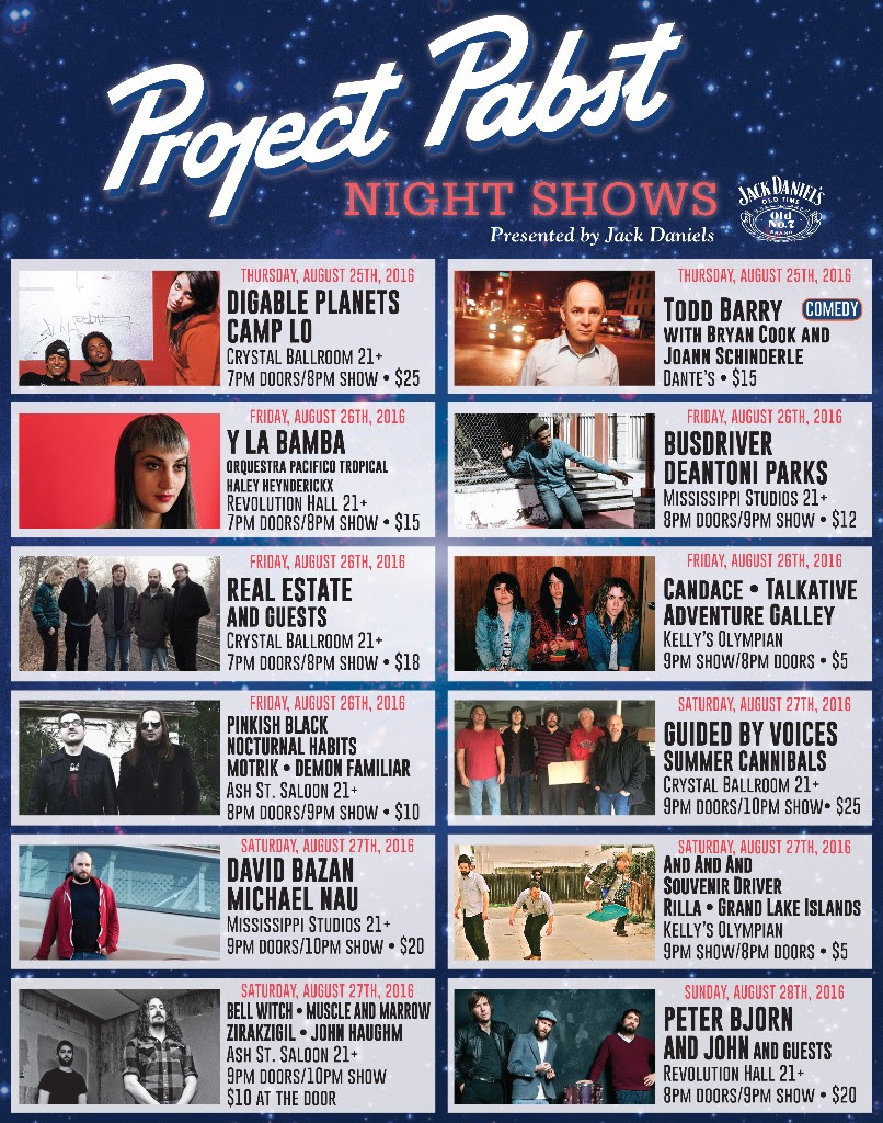 Project Pabst Night Shows