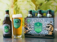 Six pack bottles of Firestone Walker Luponic Distortion 003 part of the brewery's rotating hop series. (image courtesy of Firestone Walker)