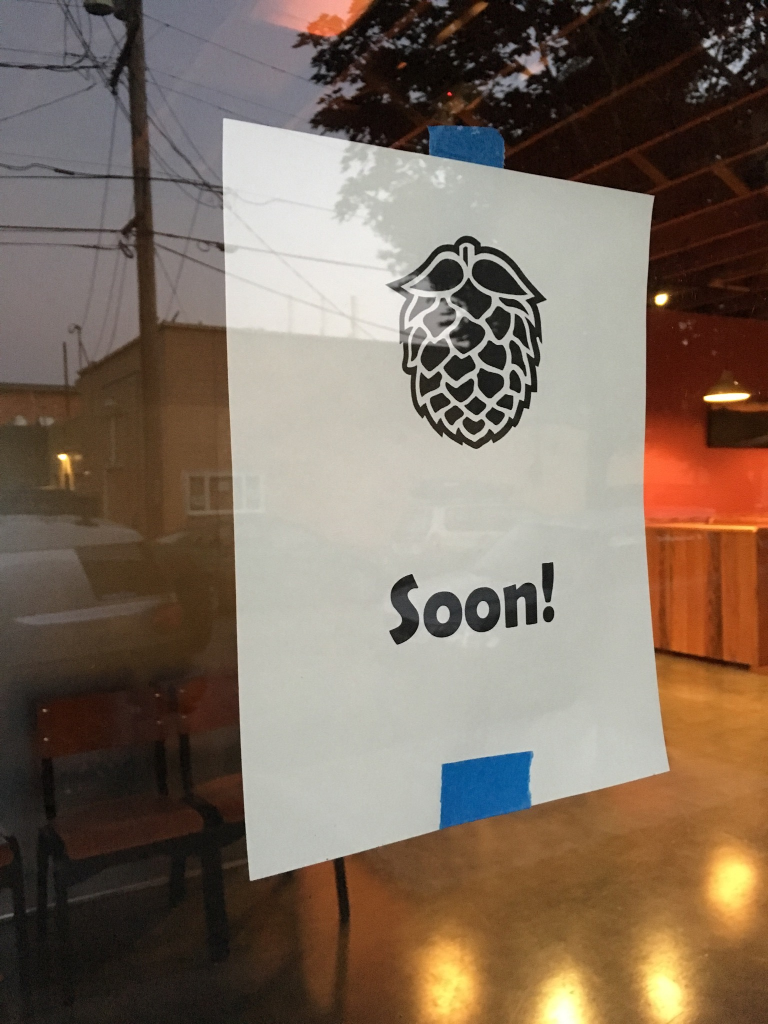 The wait is now over for the opening of Double Mountain Taproom. (photo by Cat Stelzer)