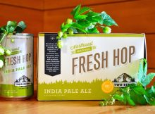 Two Beers Brewing Fresh Hop Box. (image courtesy of Two Beers Brewing Co.)