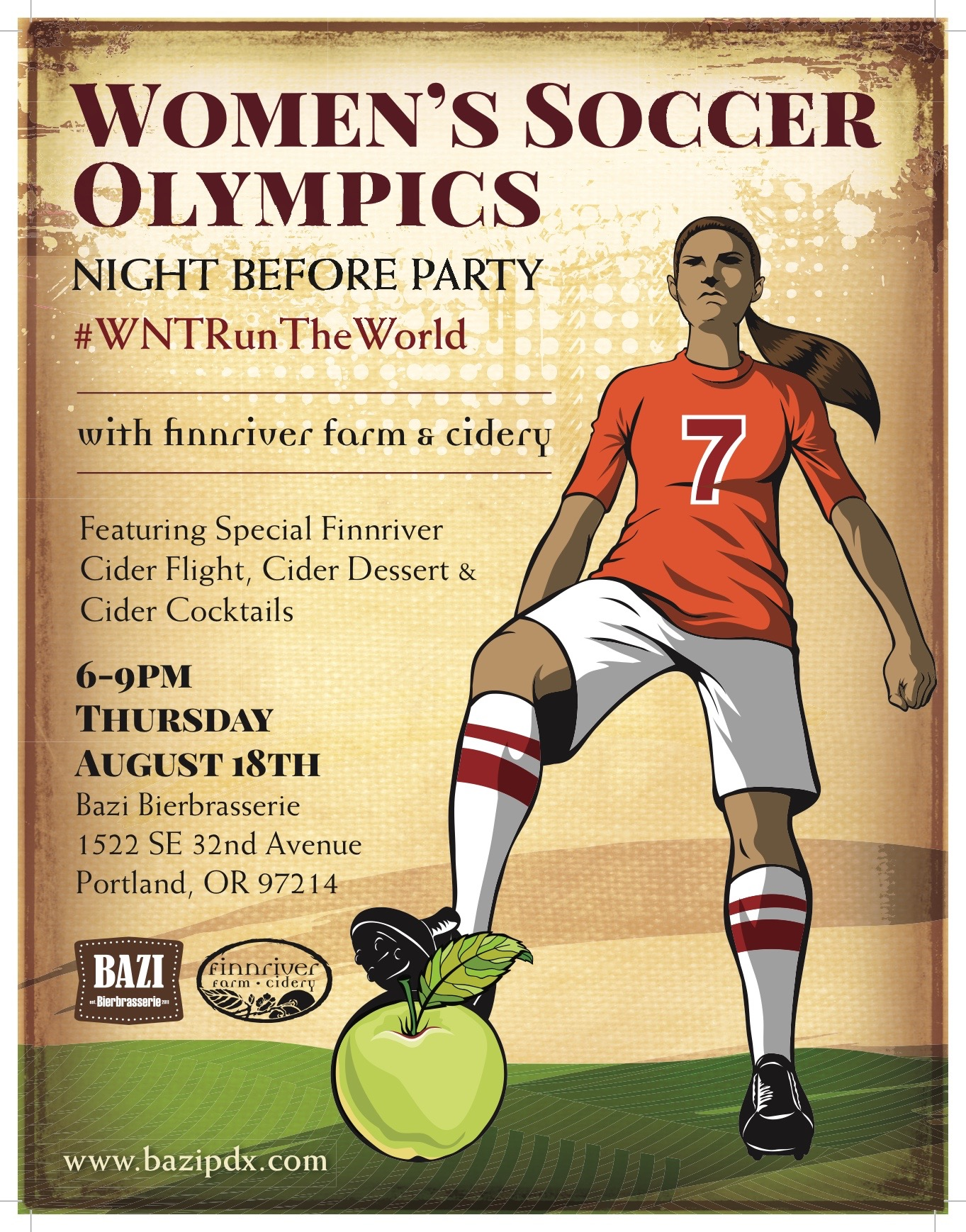 Women Soccer Poster Finnriver