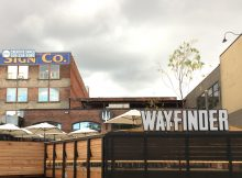 A view of Wayfinder Beer from SE 2nd Avenue in Portland's Southeast Industrial Area.