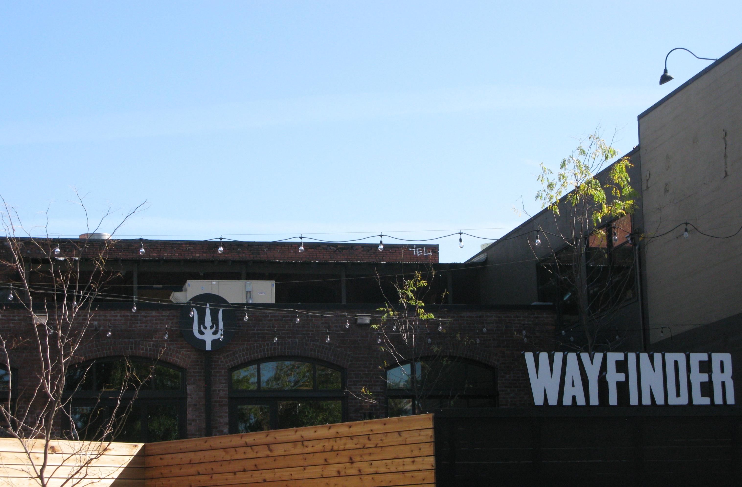 An exterior view of Wayfinder Beer. (FoystonFoto)
