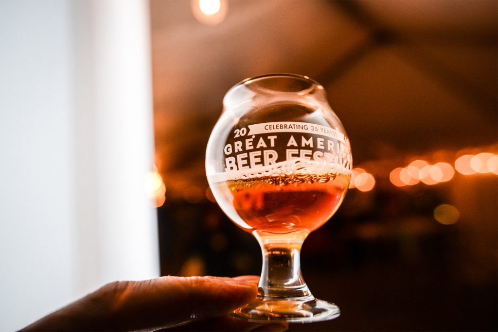A beer during the 2016 GABF. (Photo © Brewers Association)
