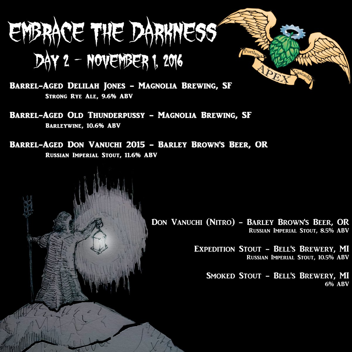 APEX Embrace the Darkness 2016 - Day 2