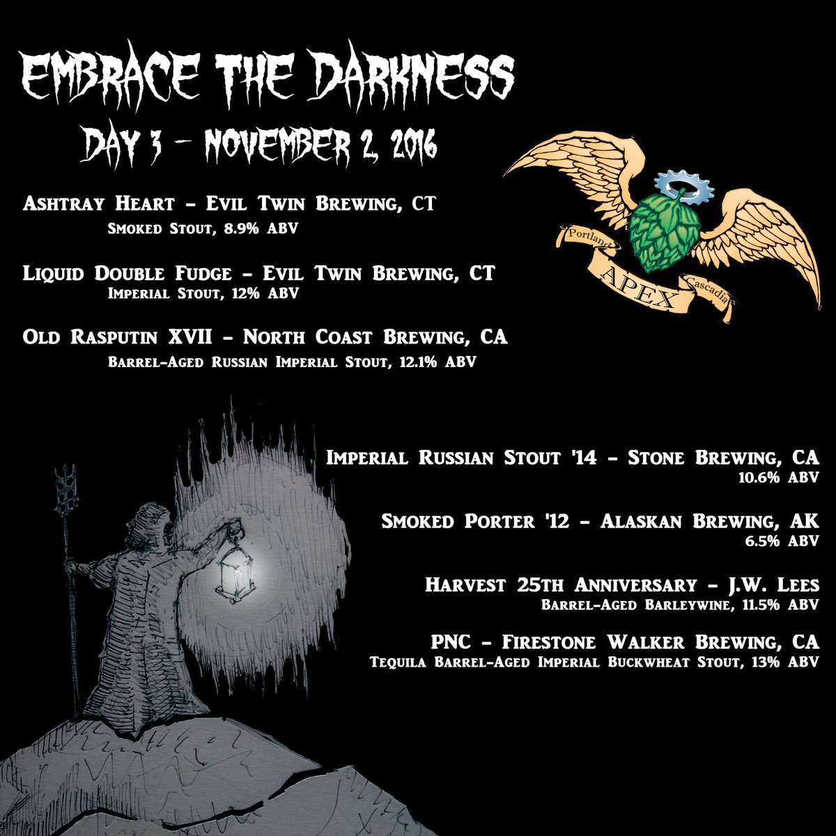 APEX Embrace the Darkness 2016 - Day 3