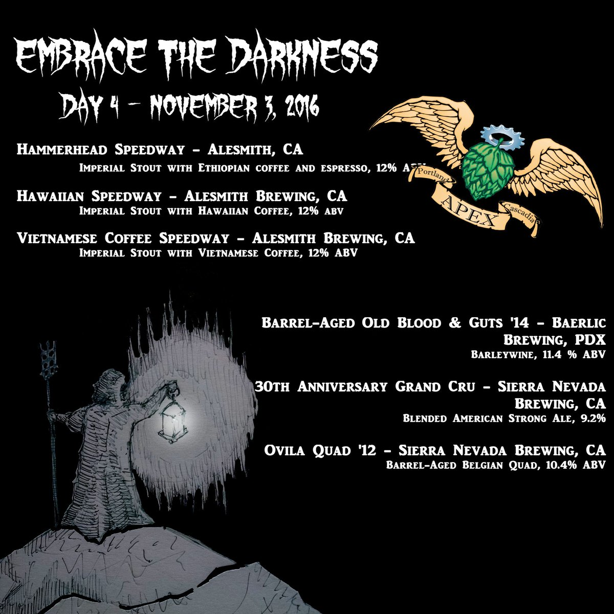 APEX Embrace the Darkness 2016 - Day 4