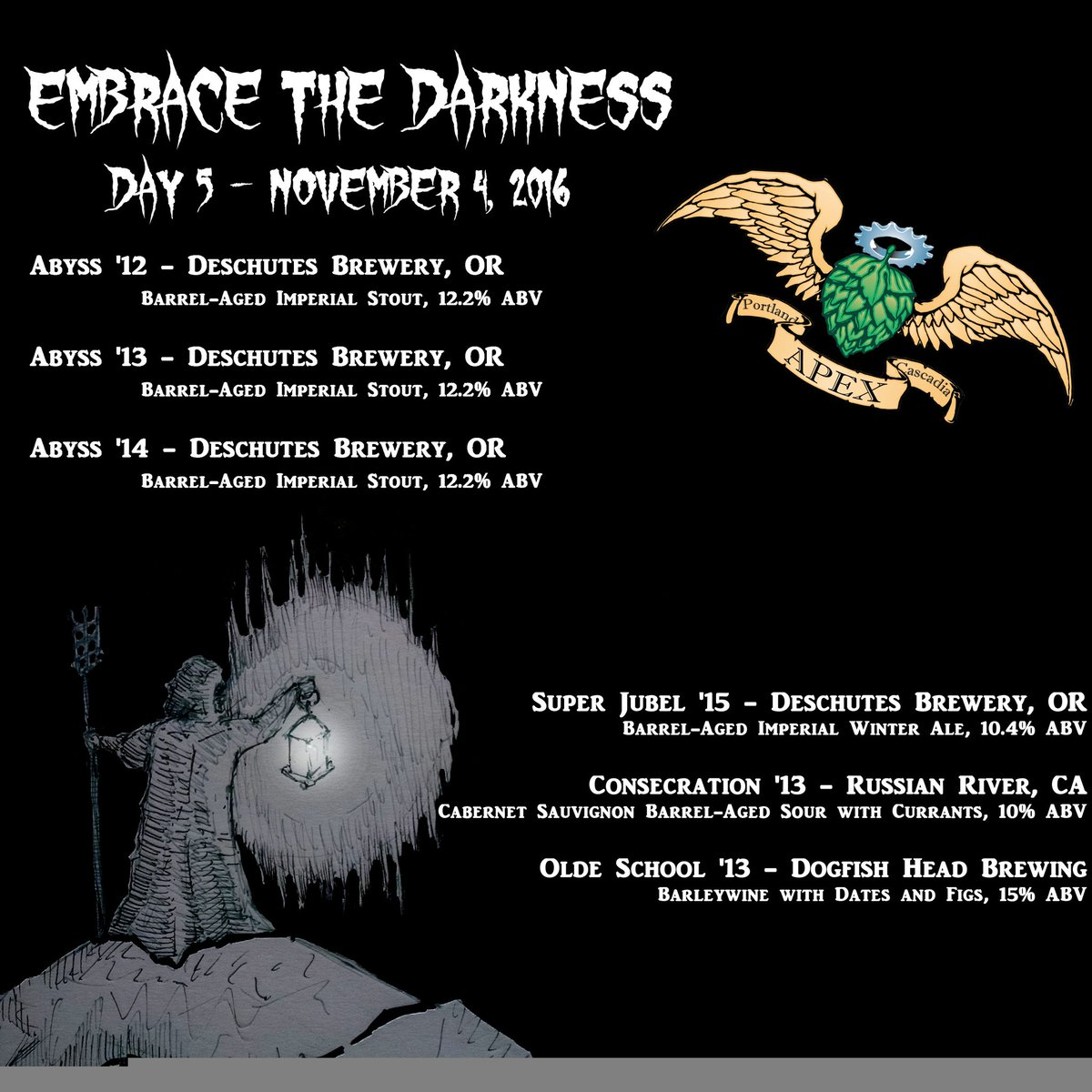 APEX Embrace the Darkness 2016 - Day 5