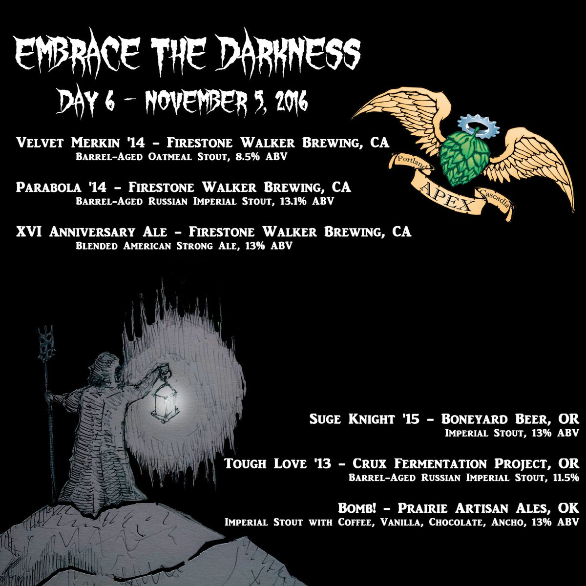 APEX Embrace the Darkness 2016 - Day 6