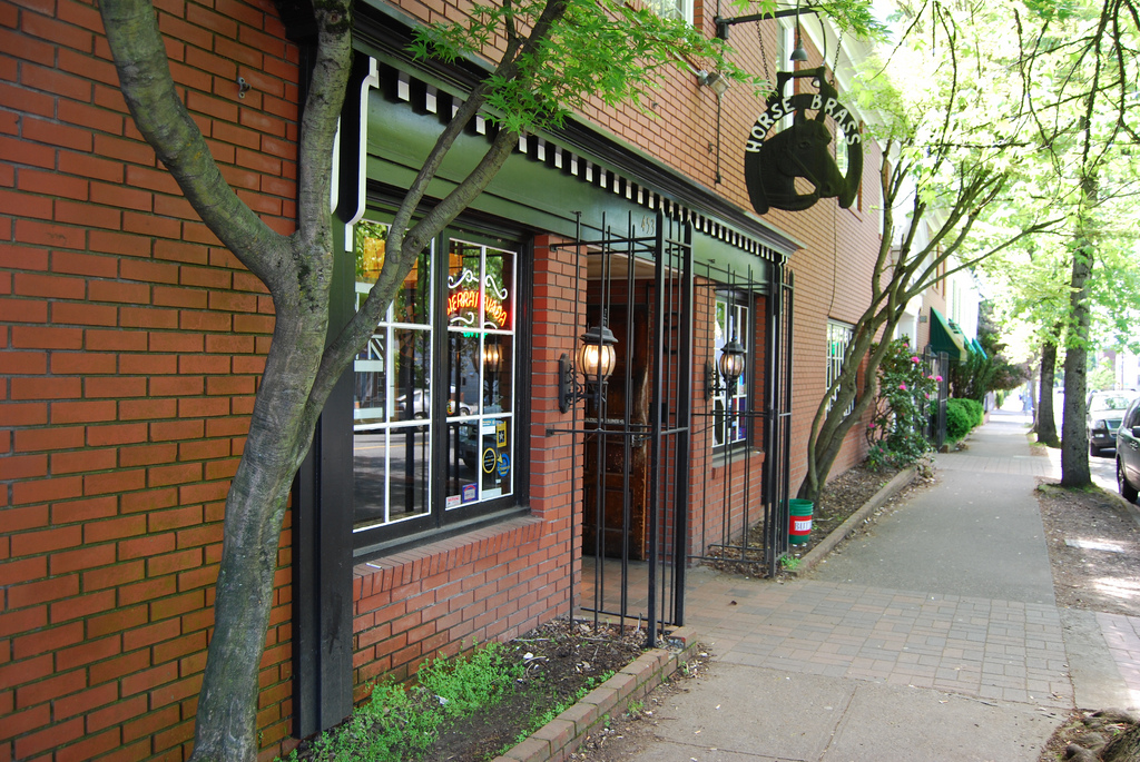 An exterior view of Horse Brass Pub in Southeast Portland. (image courtesy of Horse Brass Pub)