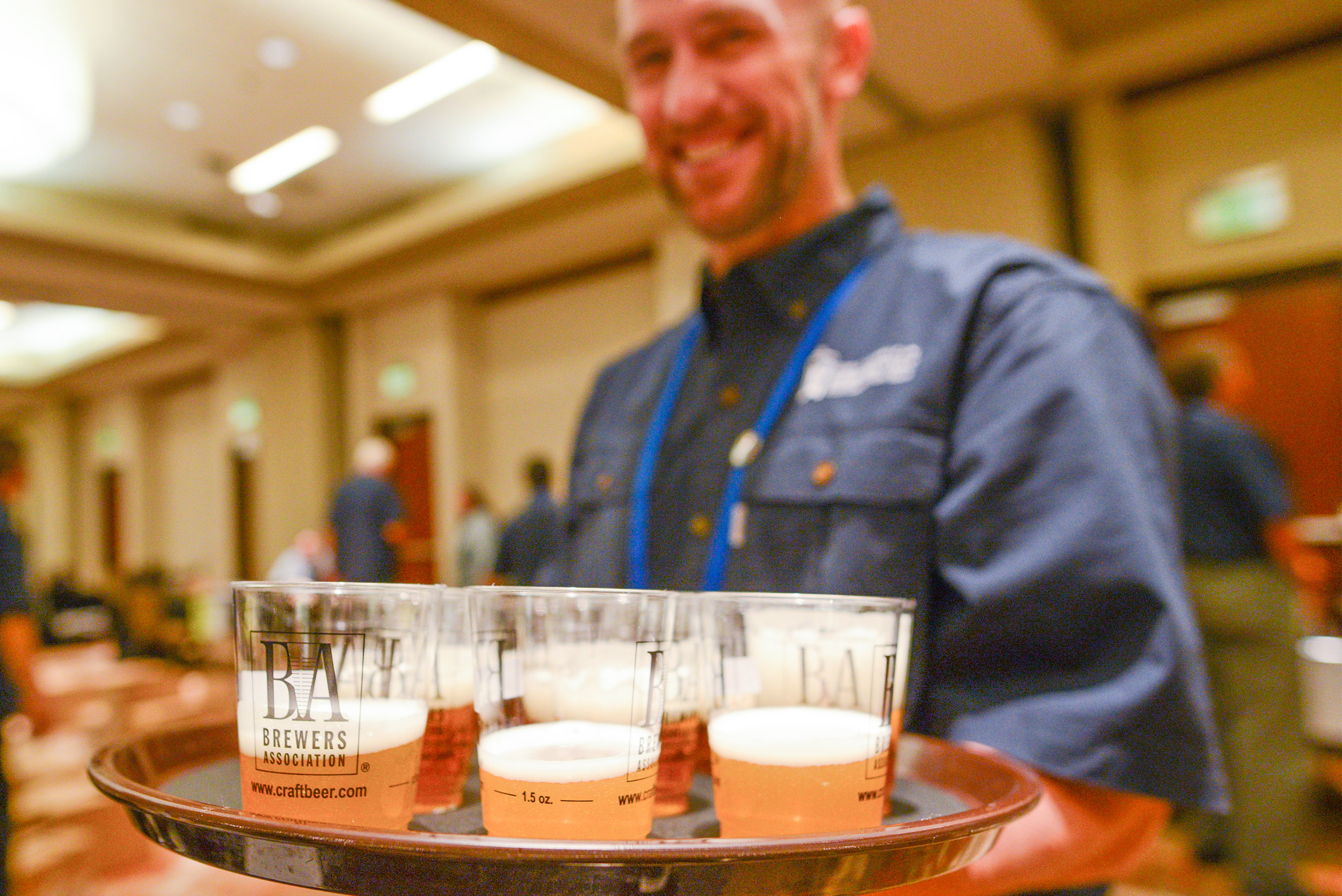 Beer stewards during the judging at the 2016 GABF. (Photo © Brewers Association)