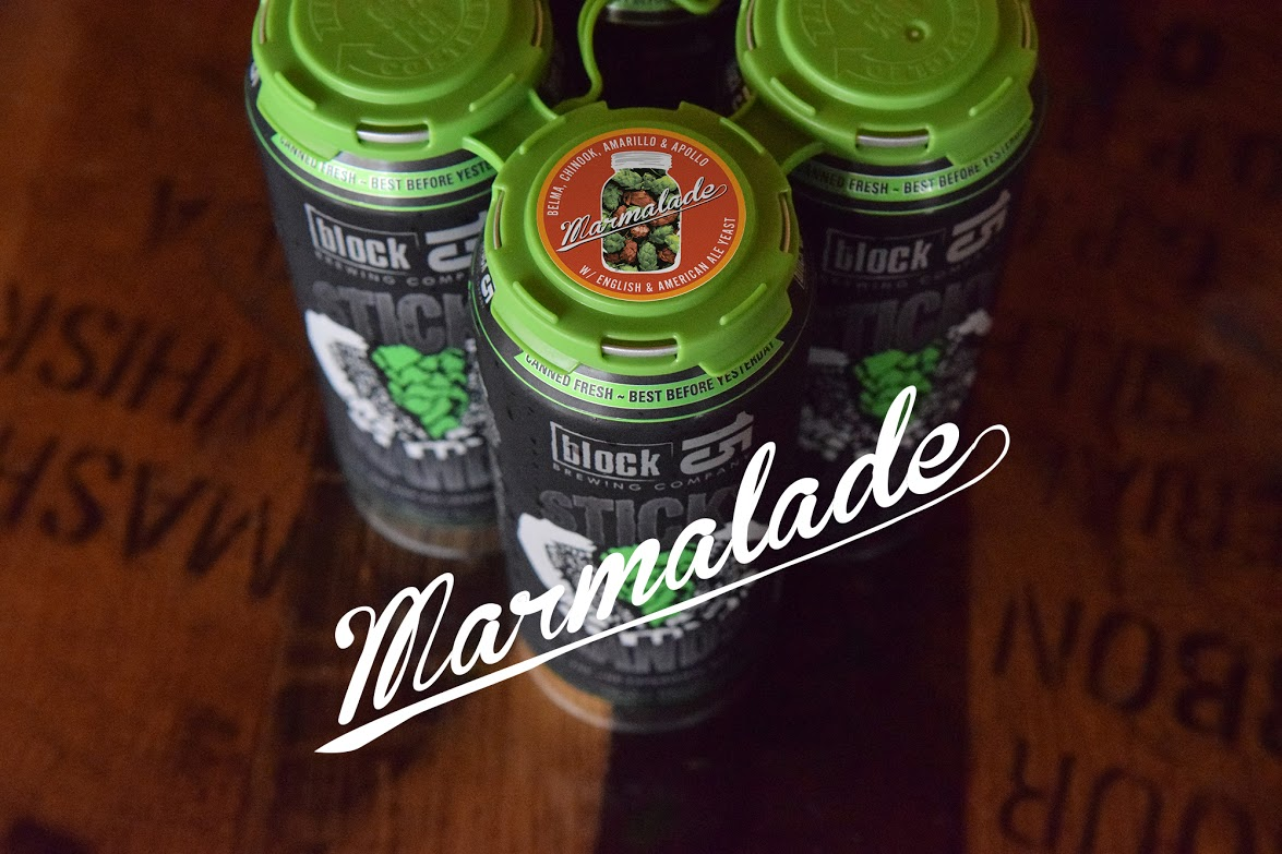 Block 15 Sticky Hands Marmalade Portland release at Bridgetown Beerhouse. (image courtesy of Bridgetown Beerhouse)