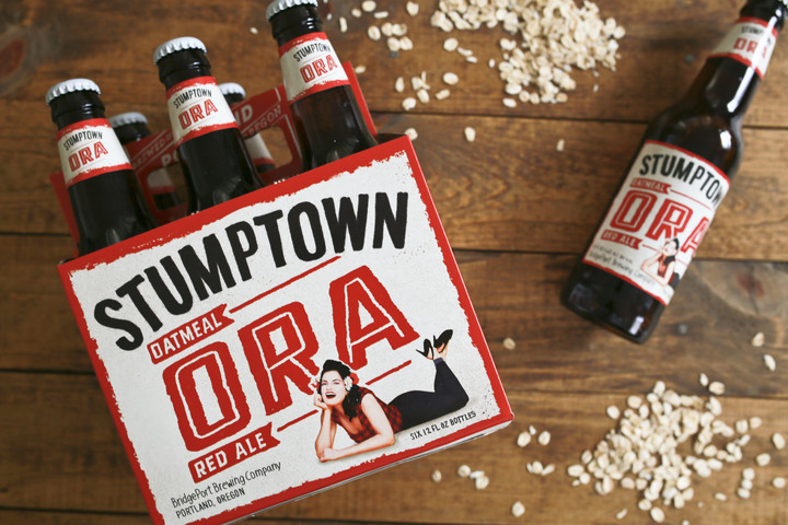 BridgePort Brewing Stumptown Oatmeal Red Ale (ORA). (image courtesy of BridgePort Brewing)