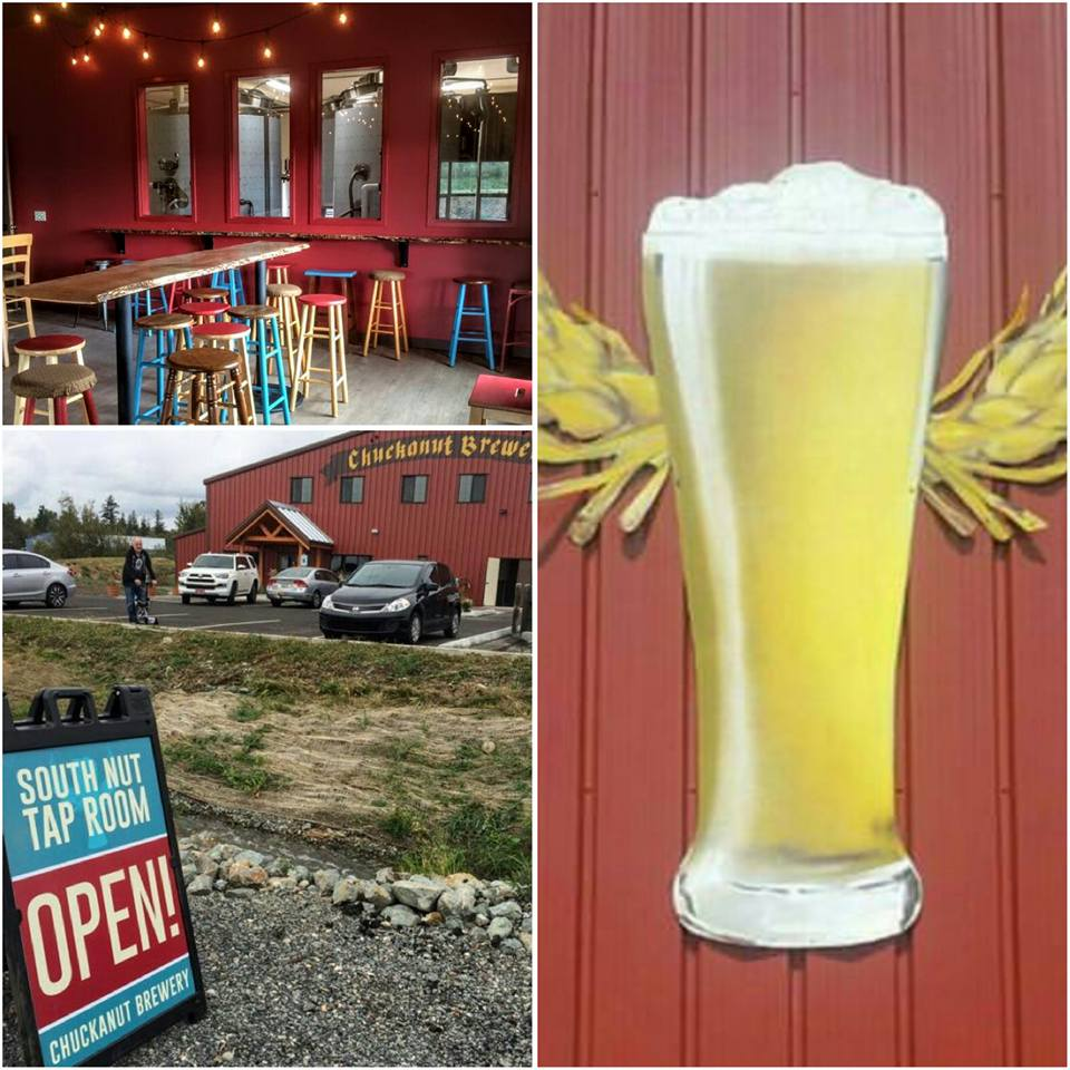 Chuckanut Brewery Open Its South Nut Tap Room in Burlington, Washington. (image courtesy of Chuckanut Brewery)