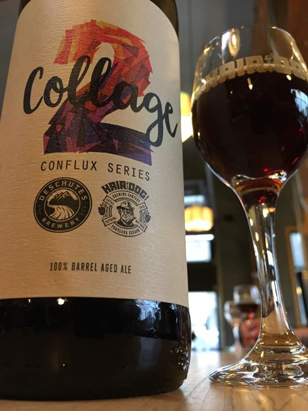 Collage 2 from Deschutes Brewery and Hair of the Dog Brewing. (image courtesy of Hair of the Dog Brewing)