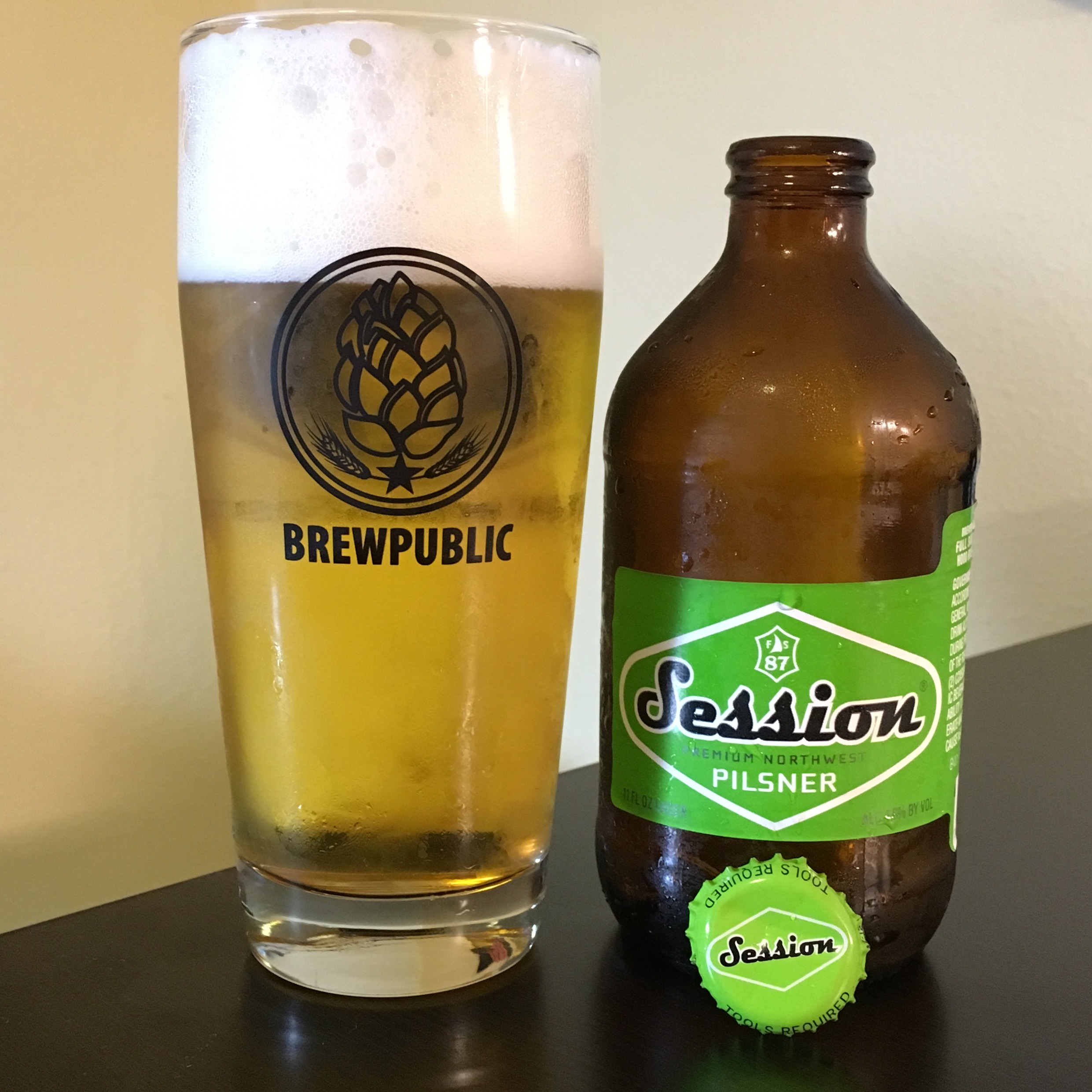 Full Sail Session Premium Northwest Pilsner poured into a Brewpublic glass..jpg