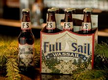 Full Sail Wassail Winter Ale is now on retail shelves. (photo courtesy of Full Sail Brewing)