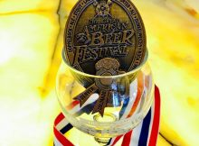 Migration Brewing is awarded its first GABF medal and it is a Bronze Medal for Old Silenus Old Ale. (photo courtesy of Migration Brewing)