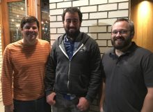 Portland's latest brewery project, Level Beer consists of Geoff Phillips, Jason Barbee and Shane Watterson.