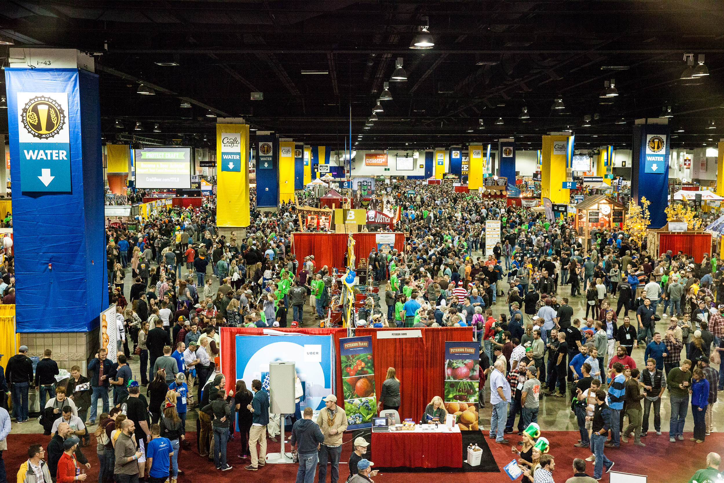 The floor of the Colorado Convention Center during the 2016 GABF. (Photo © Brewers Association)