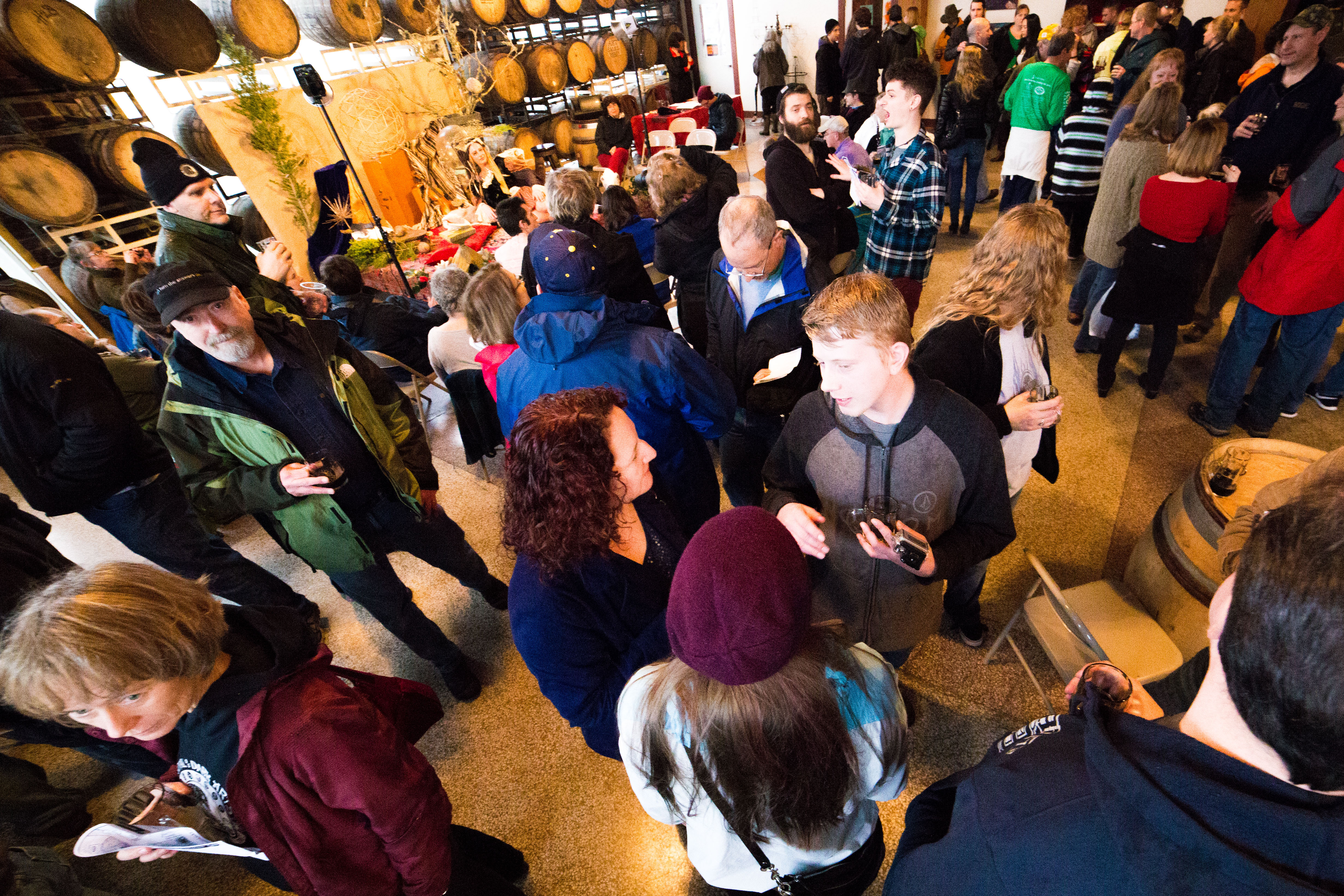 Attendees at Fort George Brewery Festival of Dark Arts held each February in Astoria, Oregon. (image courtesy of Fort George Brewery)