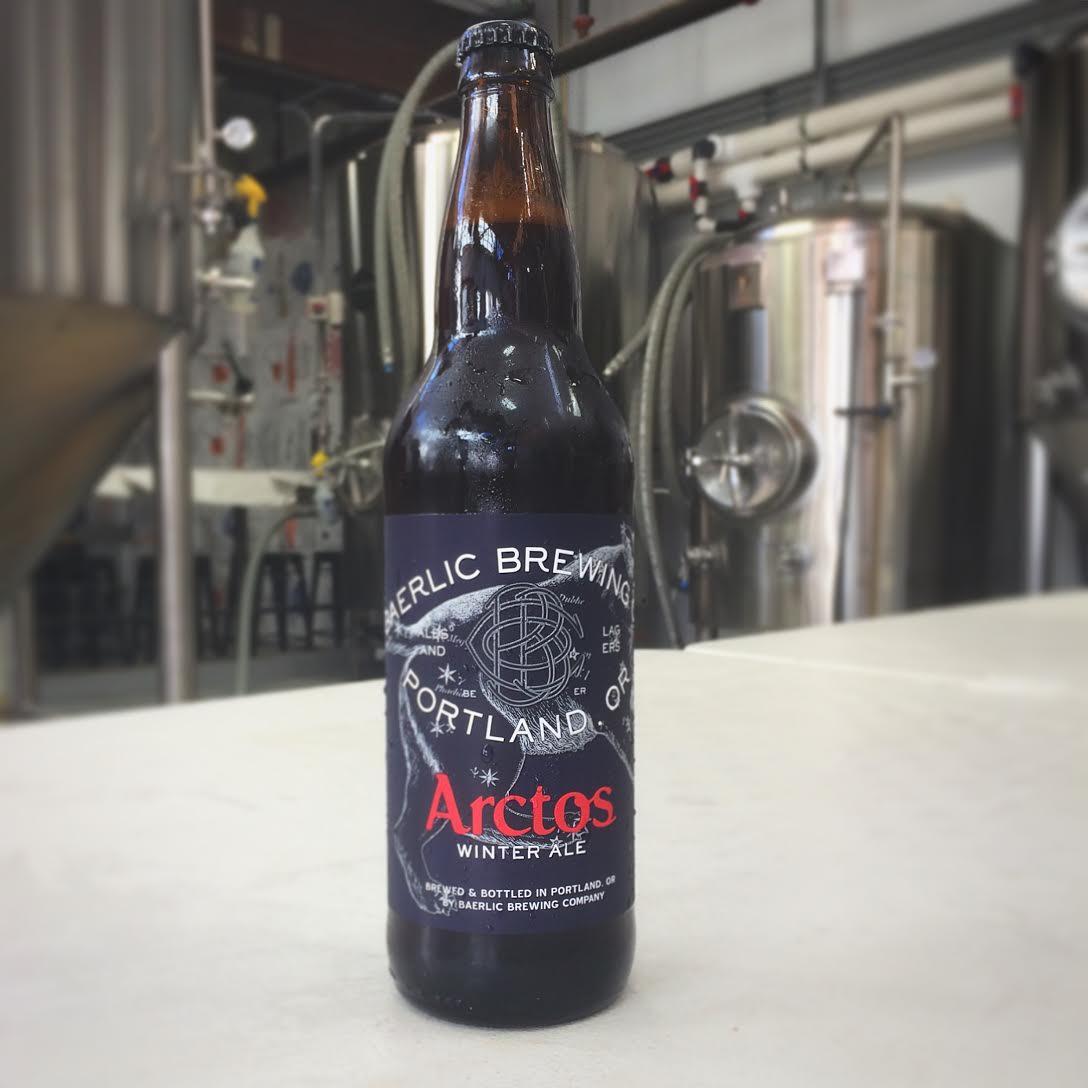 Baerlic Brewing releases its Arctos Winter Ale. (photo courtesy of Baerlic Brewing)