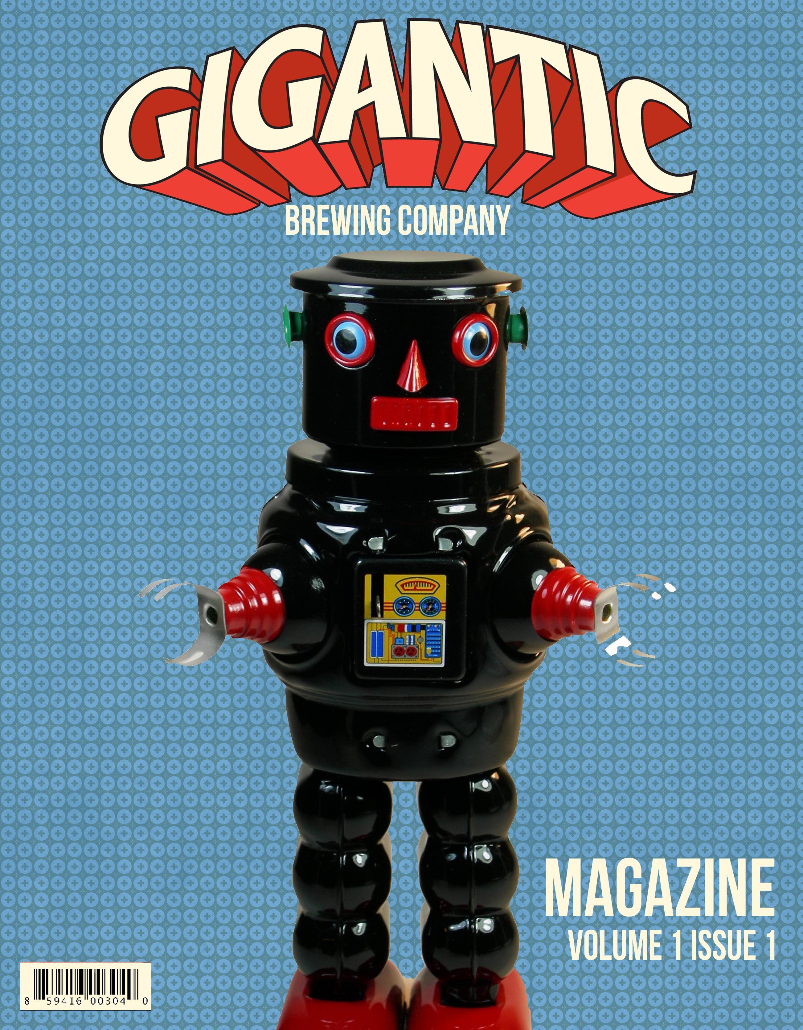 Gigantic Magazine Cover October 2016
