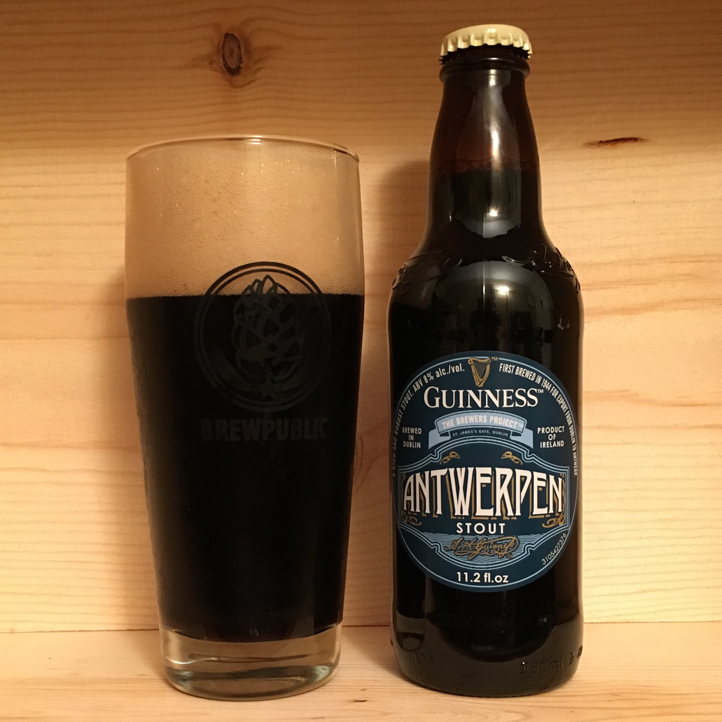 Brewed for the Belgian city of Antwerp, Guinness has now released Guinness Antwerpen Stout.