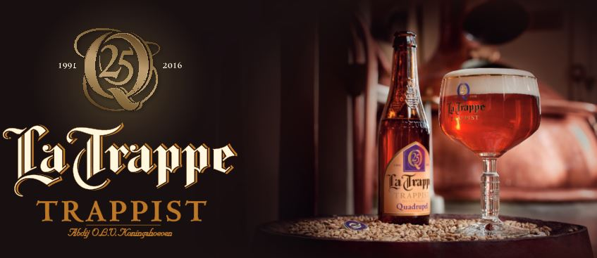 la trappe quad 25th anniversary at bazi bierbrasserie