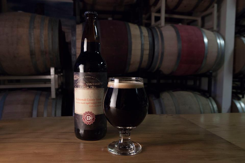 On Cyber Monday, Culmination Brewing will release its 2016 Multnomah County Stout in bottels and on draft. (image courtesy of Culmination Brewing)