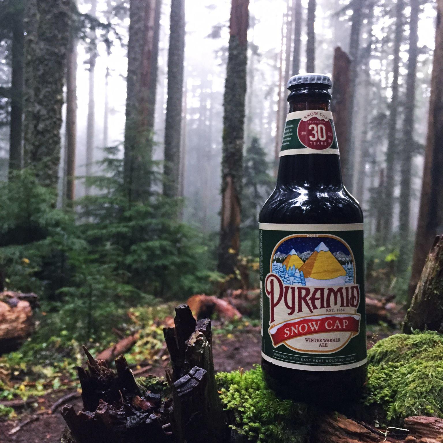 Pyramid Brewing's winter seasonal Snow Cap Winter Warmer Ale. (image courtesy of Pyramid Brewing)
