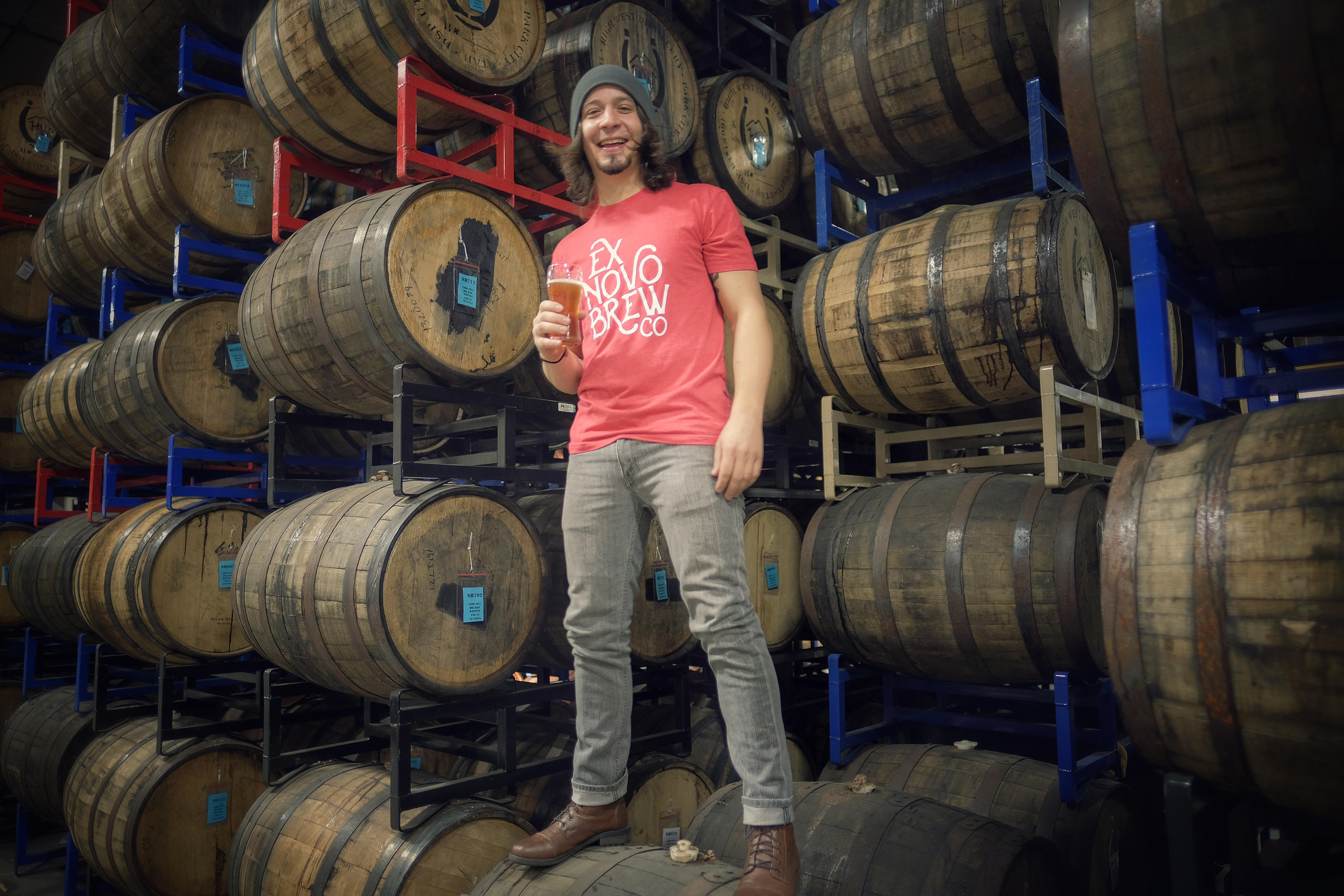 Ryan Buxton takes over as Head Brewer at Ex Novo Brewing in Portland, Oregon. (image courtesy of Ex Novo Brewing)