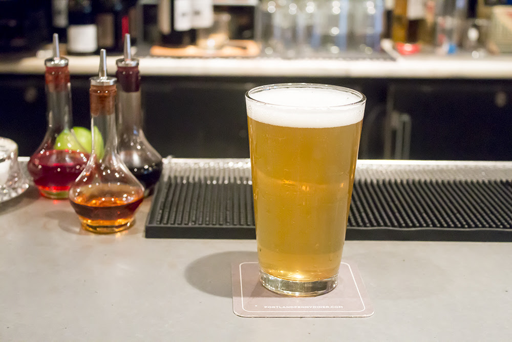 Fumé de Miel Smoked Honey Saison, was a collaboration between Culmination and Imperial Chef de Cuisine Matthew Jarrell and General Manager Eric Bigger. (image courtesy of Imperial).