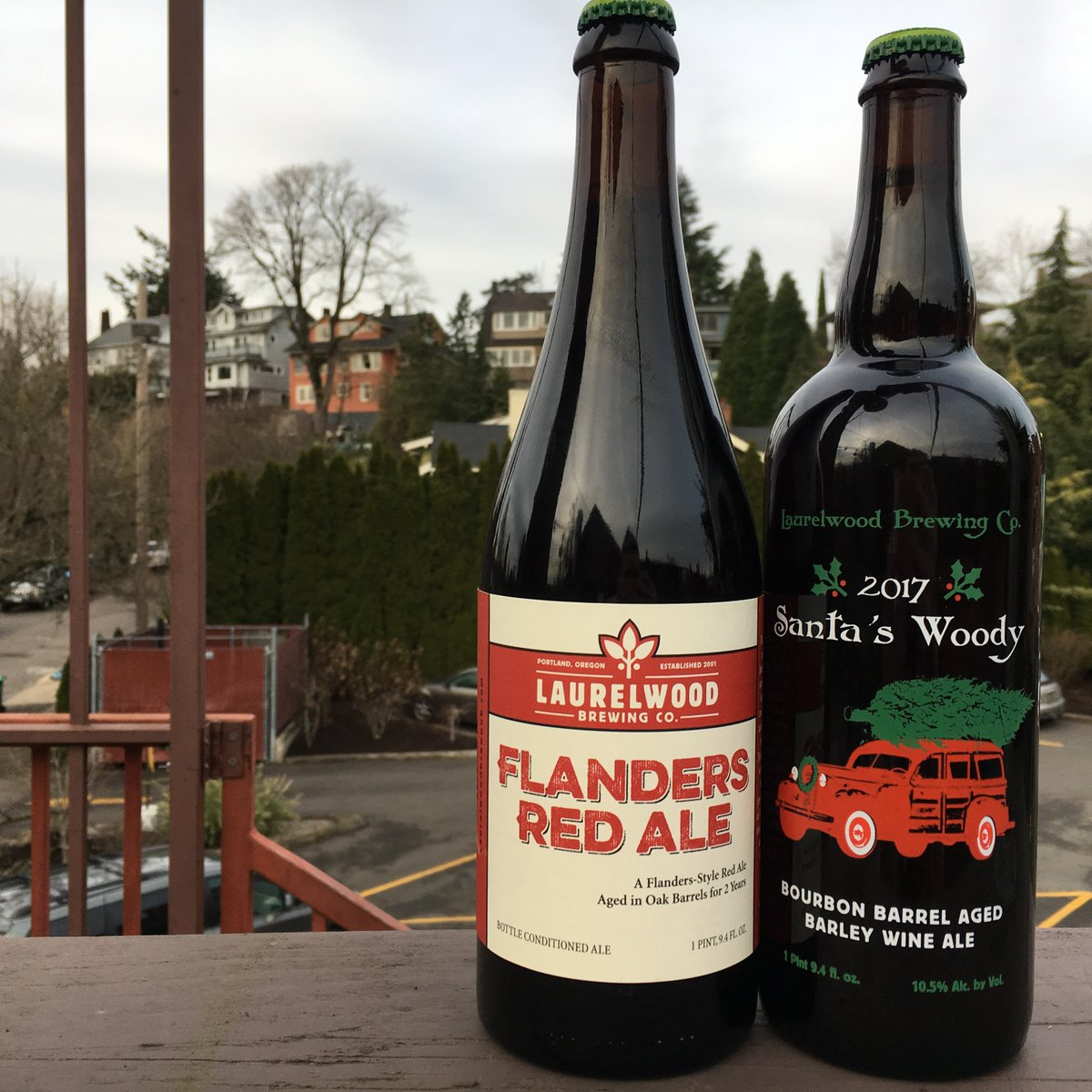 Laurelwood brewing releases flanders red ale and 2017 for Laurel wood