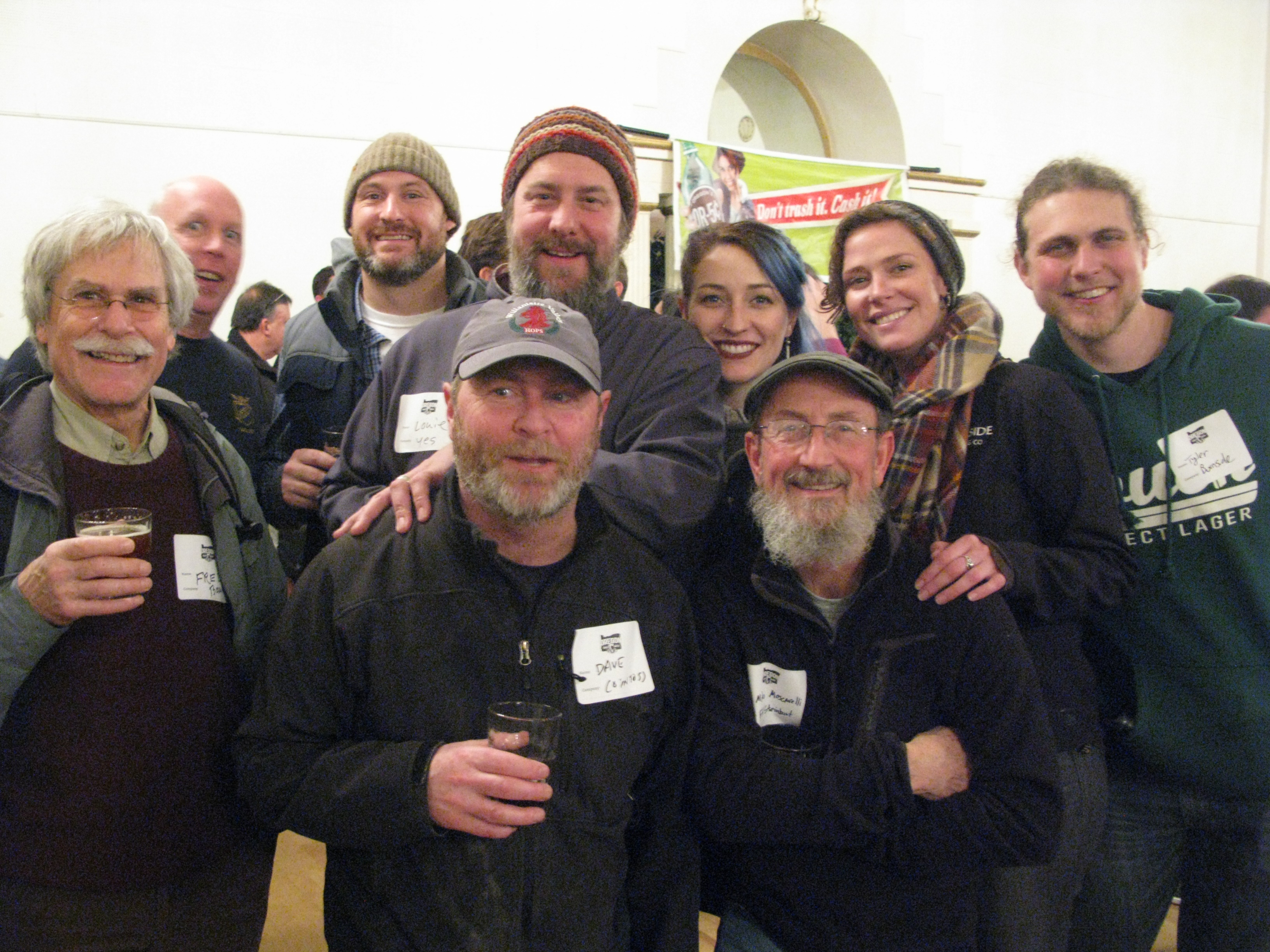 The crew at the annual Oregon Brewers Guild meeting on November 30, 2016. (FoystonFoto)