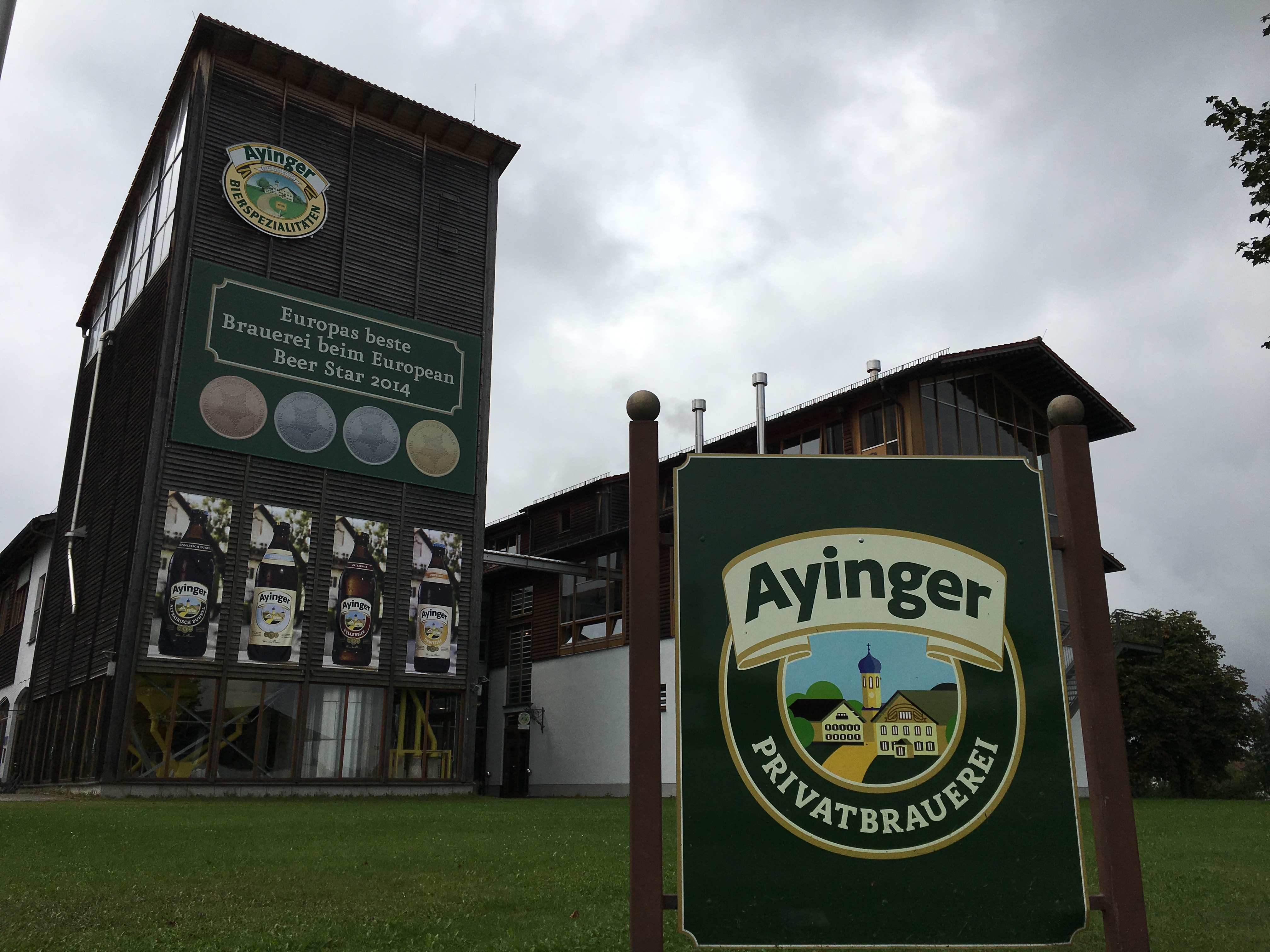 Welcome to Ayinger Privatbrauerei in Aying, Germany.