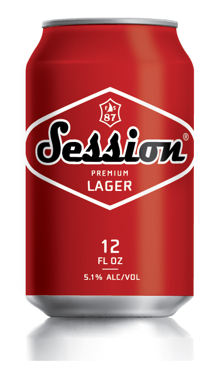 "It's the same award-winning lager, but now in a can,"" says Full ..."