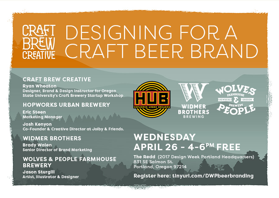 Design Week Portland Designing For A Craft Beer Brand