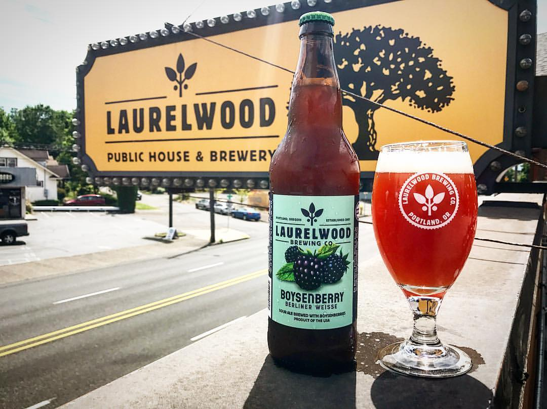 Laurelwood brewing releases boysenberry berliner weisse for Laurel wood