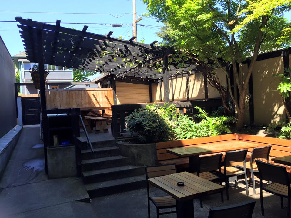 The Back Patio At Interurban On North Mississippi In Portland. (image  Courtesy Of Interurban)
