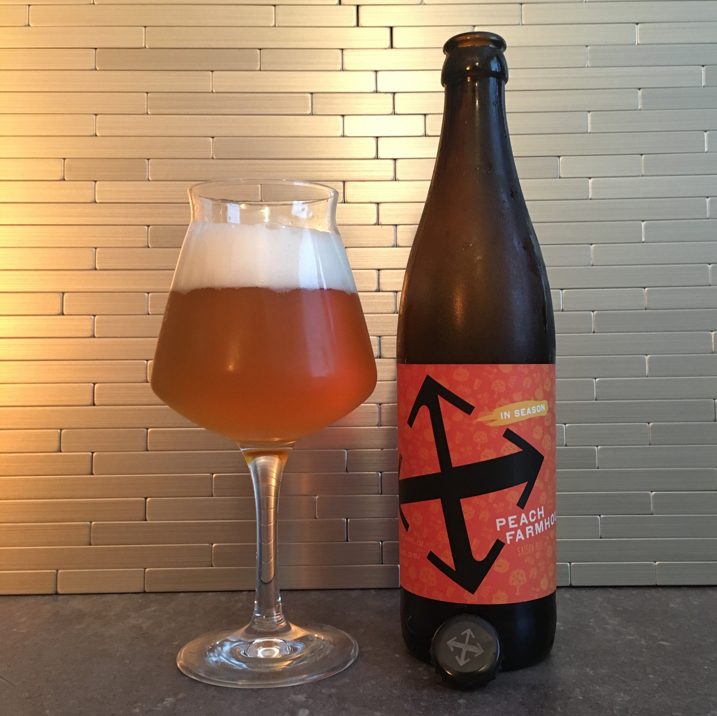 Crux Fermentation Project Releases Peach Farmhouse [BANISHED] Better f Red