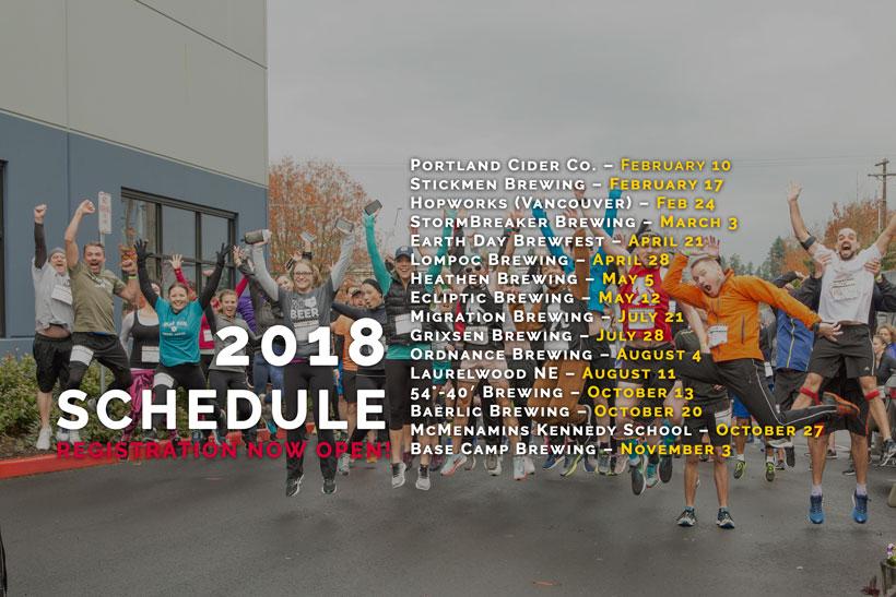 2018 Oregon Brewery Running Series