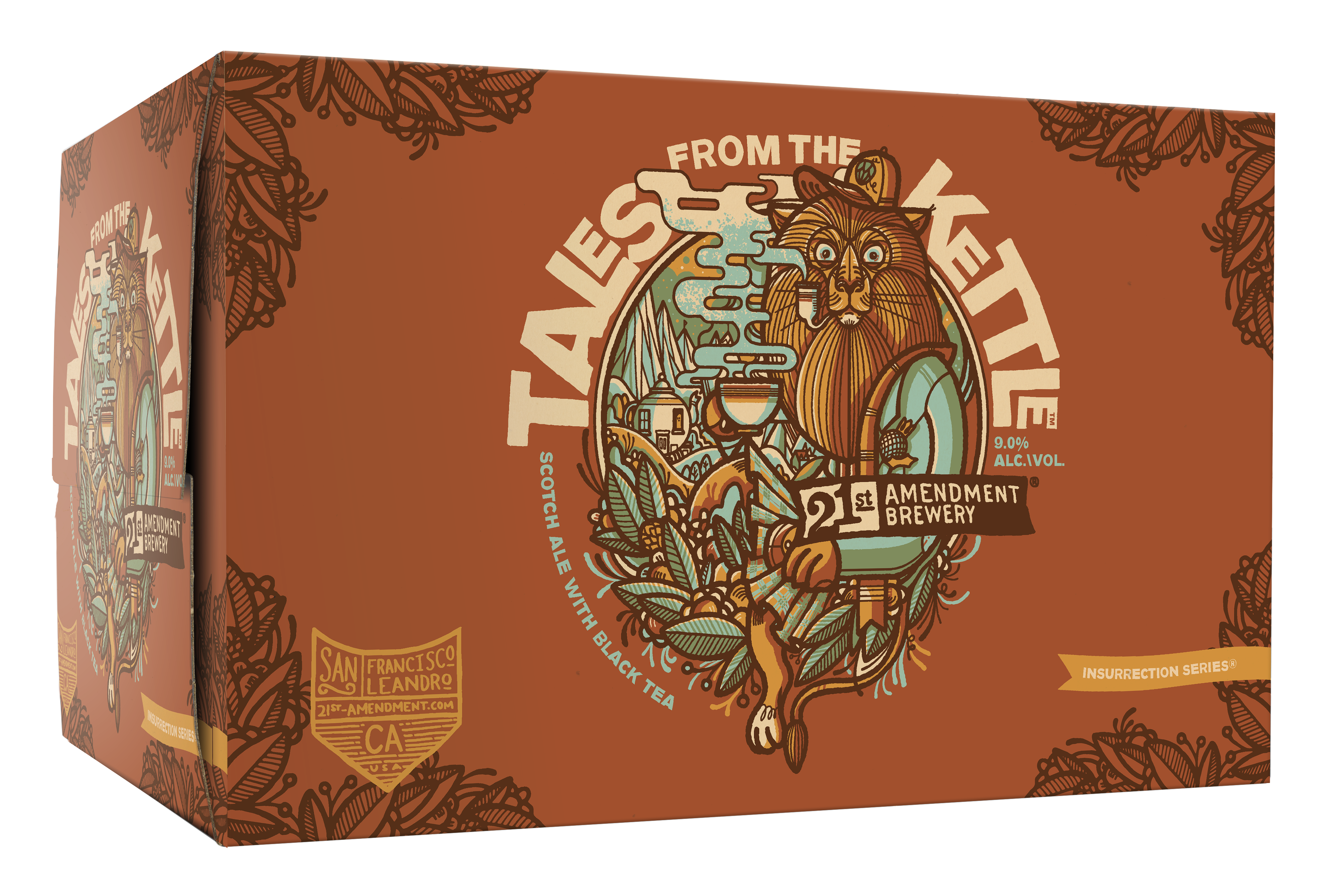 21st Amendment Brewery Introduces Tales From The Kettle 6Pack