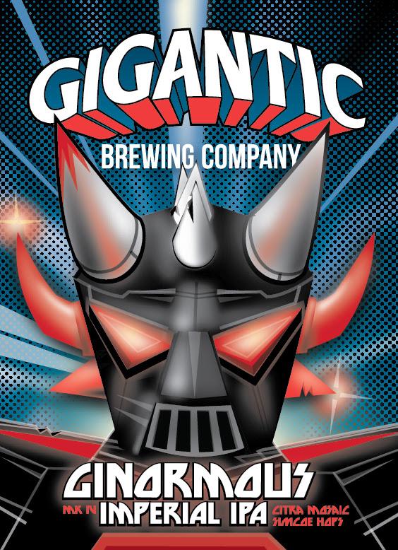 Gigantic Brewing Ginourmous Double IPA MK4