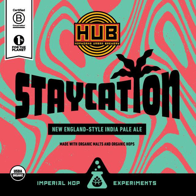 Hopworks Urban Brewery Staycation New England Style IPA