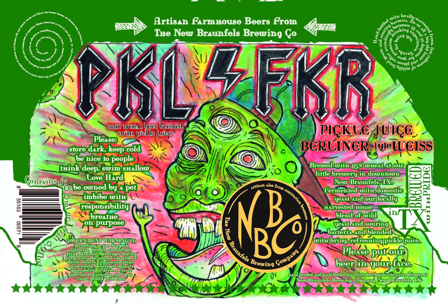 New Braunfels Brewing PKL FKR Label
